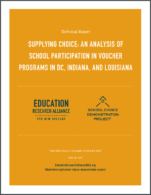 an analysis of the school voucher system
